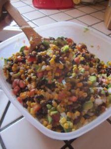 Avocado Salad Vegan Recipe