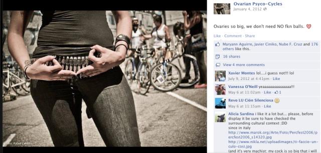 Ovarian Psycos Facebook Page