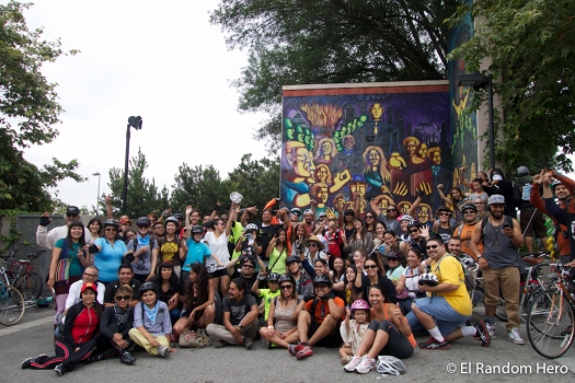 NELA Mural Ride 2014 - Photo by Erick Huerta