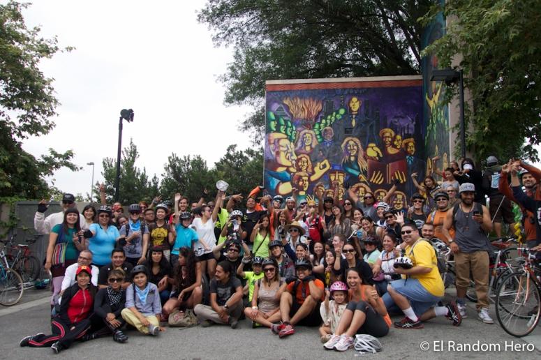 NELA Mural Ride 2014 - Photo by Erick Huerta